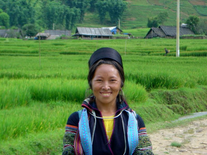 Hmong à Bac Ha
