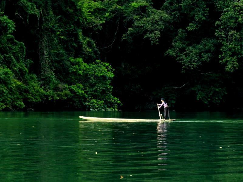 Lac Ba be vietnam