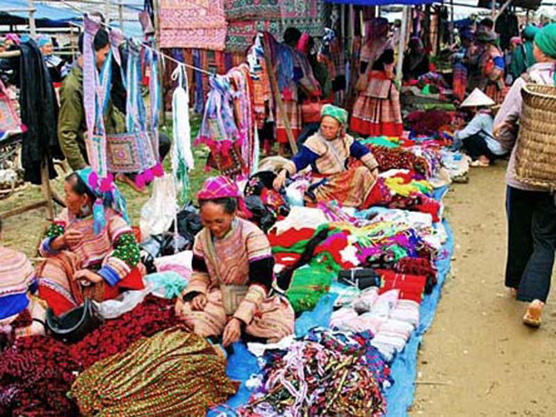 marché Sapa locaux